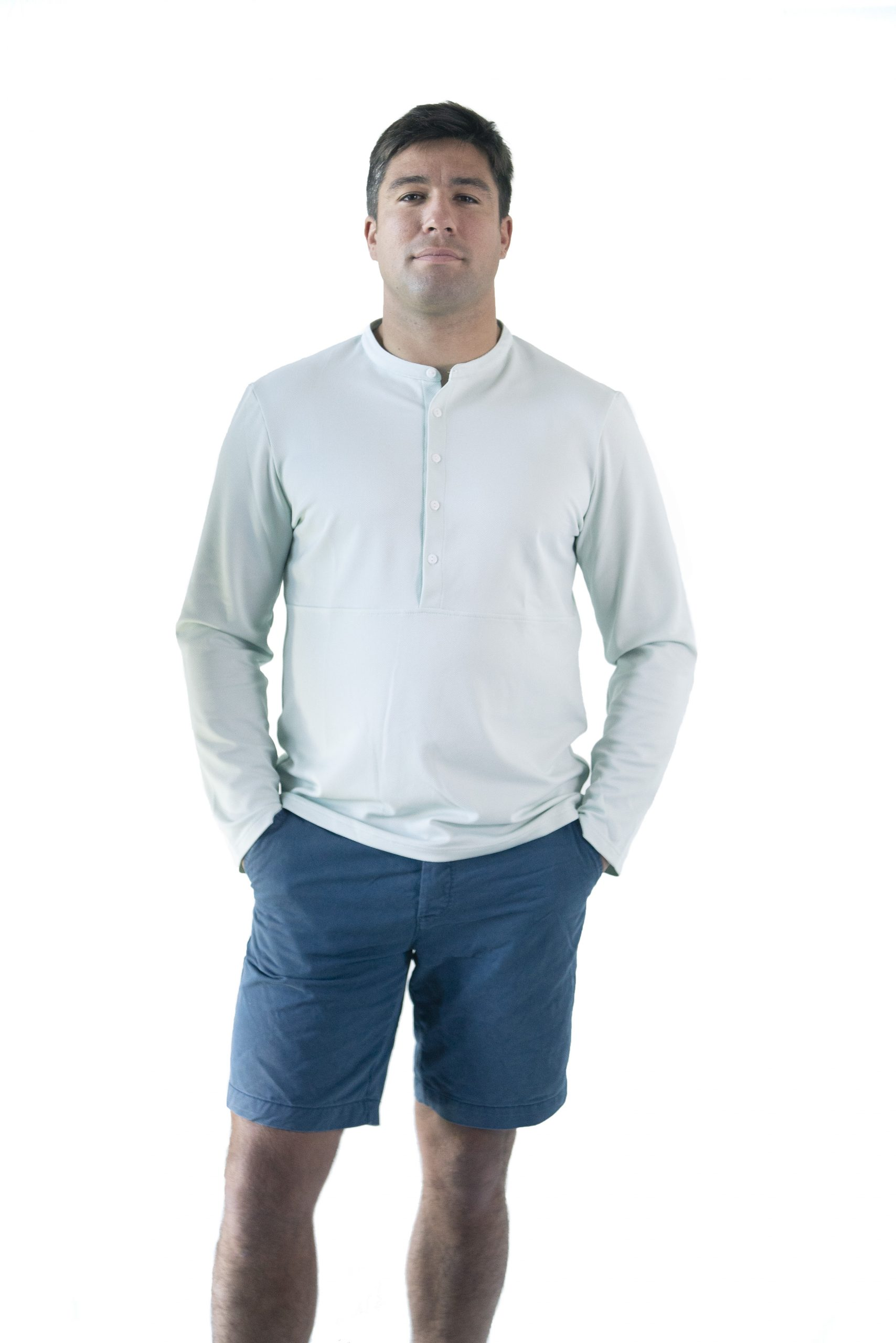 "T-shirt / Chemise Casual Chic ""Guéthary""– <i>Hommes</i>"