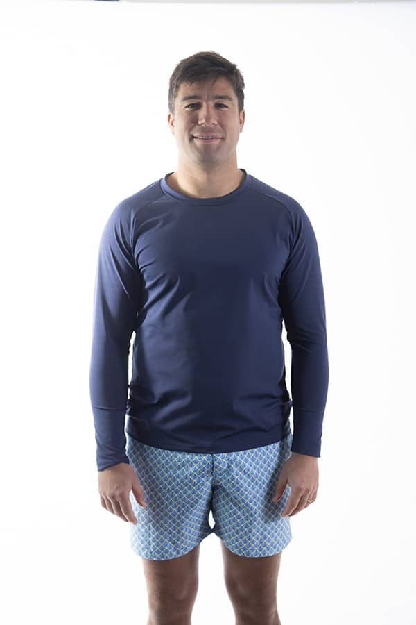 """T-shirt manches longues collection Bain """"Biarritz""""– <i>Hommes</i>"""
